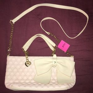 🎀 NEW Betsey Johnson Crossbody Purse Bag Satchel